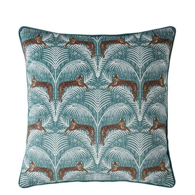 FatFace Lounging Leopards Cushion