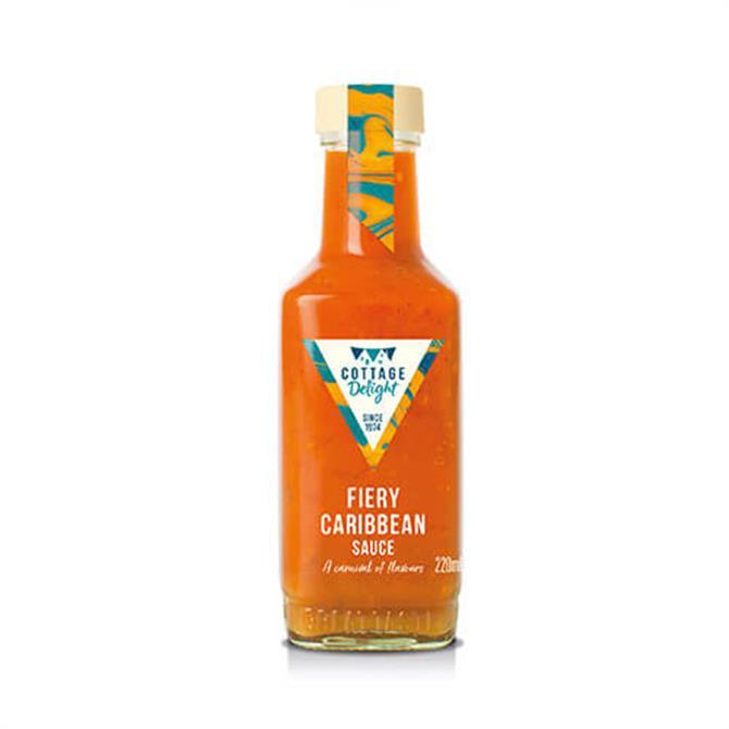 Cottage Delight Fiery Caribbean Sauce 220ml