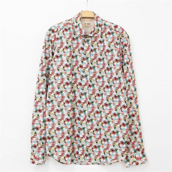 Fil Noir Treviso Multicolour Floral Print Shirt