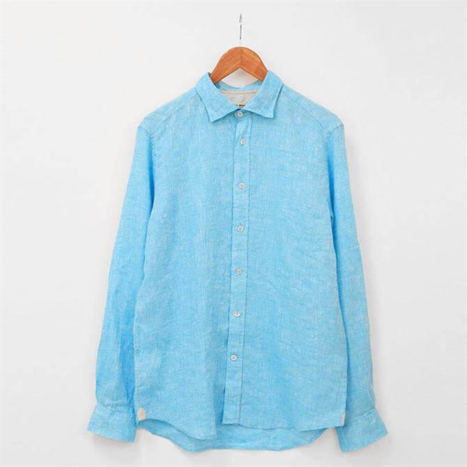 Fil Noir Roma Linen Shirt