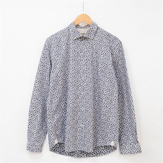 Fil Noir Treviso Floral Print Shirt