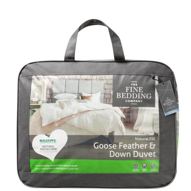 The Fine Bedding Company Goose Feather & Down King Size Duvet 4.5 Tog