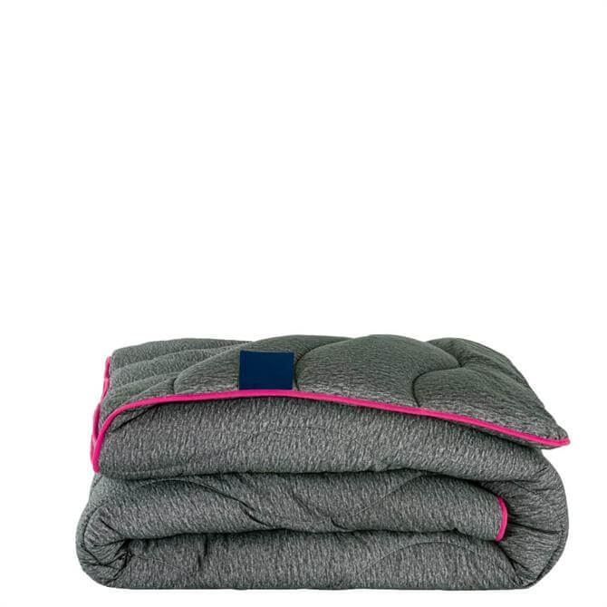 The Fine Bedding Company Night Owl Grey/Pink Duvet 10.5 Tog