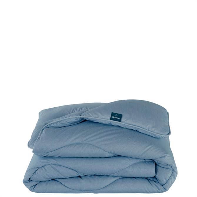The Fine Bedding Company Night Owl Twilight Blue Quilt 10.5 Tog