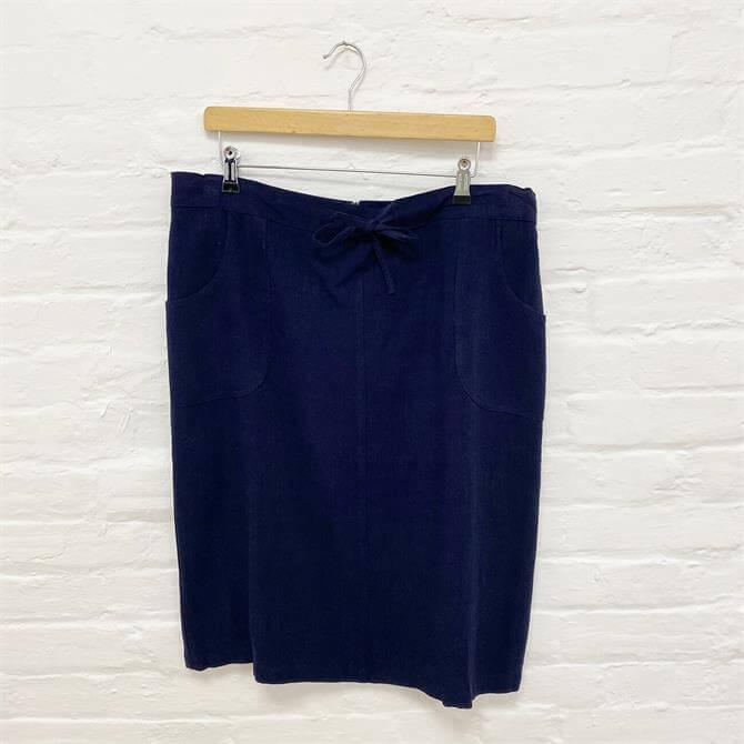 First Avenue Linen Skirt