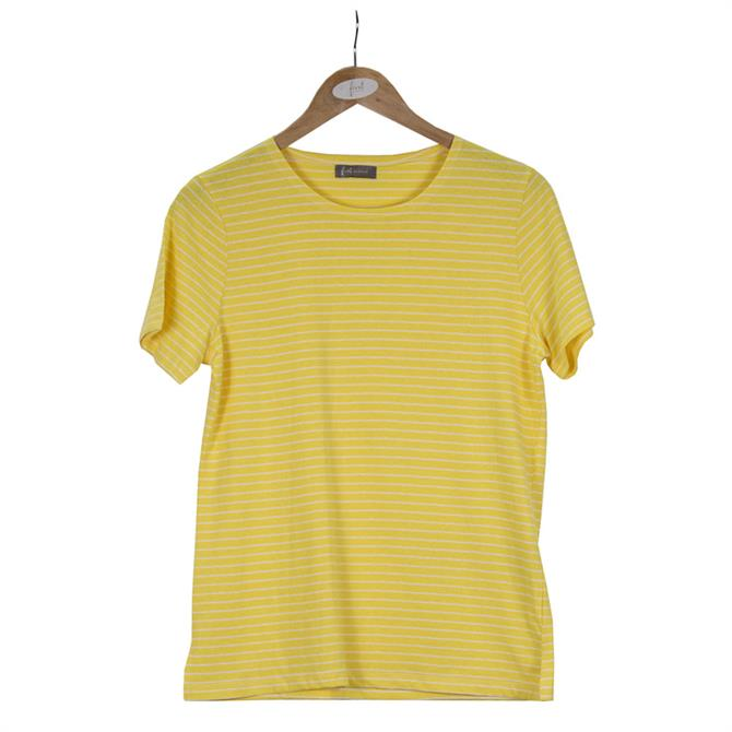 First Avenue Fine Striped T-Shirt