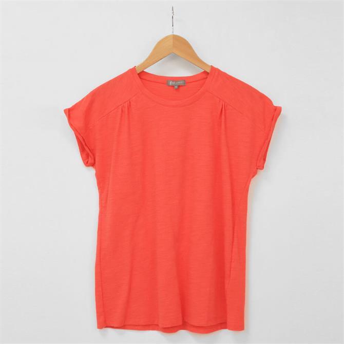 First Avenue Gill Short Sleeve Slub T Shirt