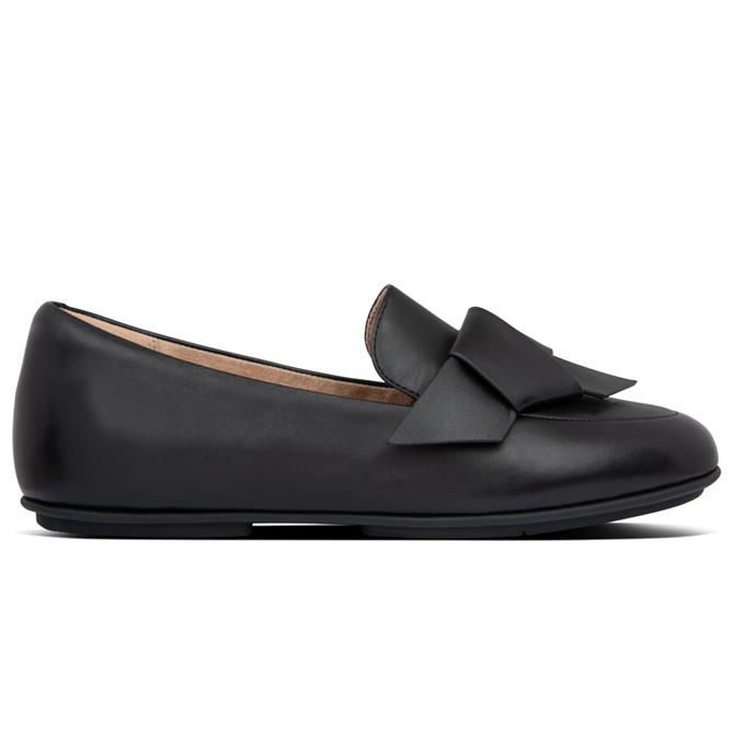 FitFlop™ Lena Knot Leather Loafers
