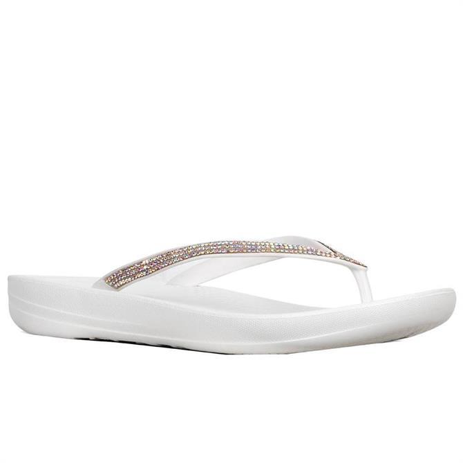 FitFlop™ Iqushion™ Sparkle Ergonomic Flip Flops