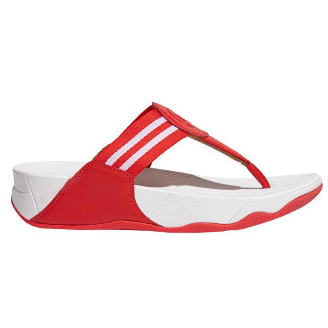FitFlop™ Flamestar Walkstar Webbing Toe-Post Sandals