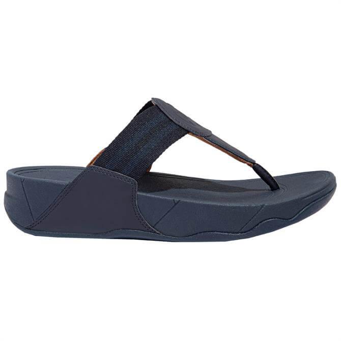 FitFlop™ Midnight Navy Walkstar Webbing Toe-Post Sandals