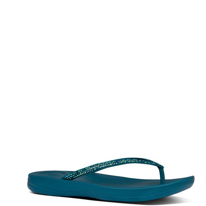 FitFlop™ Iqushion Sparkle Flip-Flops