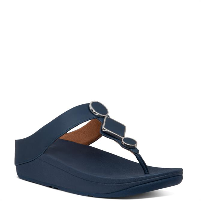 FitFlop™ Leia Leather Toe-Thongs