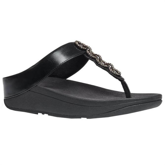 FitFlop™ Fino Sparkle Toe-Post Sandals