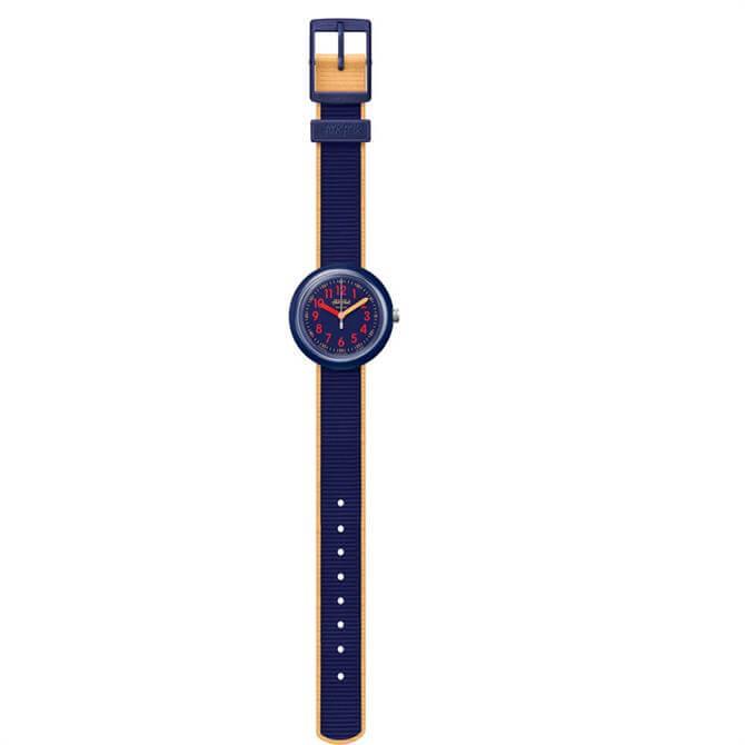 Flik Flak Colour Blast Blue Watch