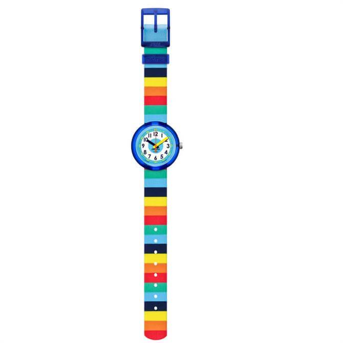 Flik Flak Stripybow Watch