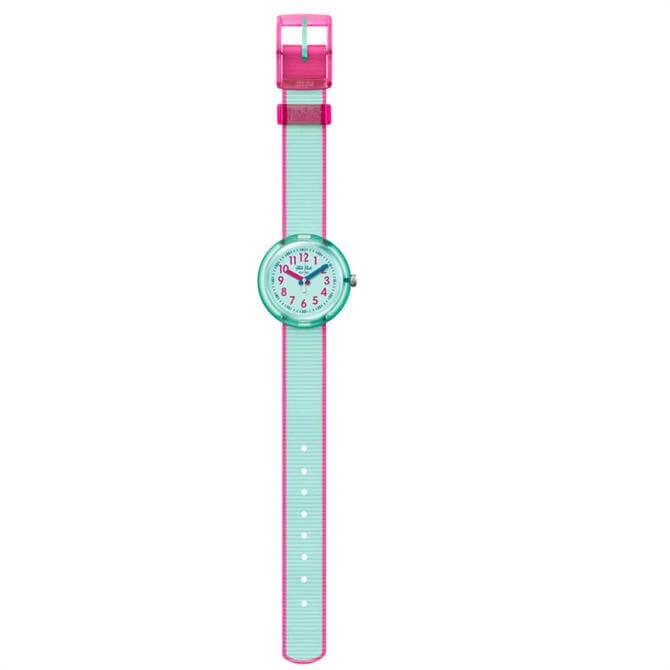 Flik Flak Colour Blast Turquoise Watch