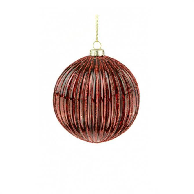 Floralsilk Glass Faye Bauble