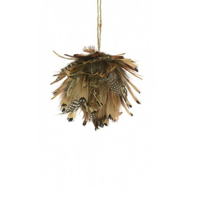 Floralsilk  Feather Artichoke Bauble