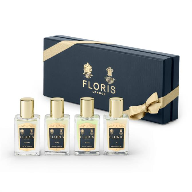 Floris Fragrance Travel Collection For Him- x4 EDT 14ml