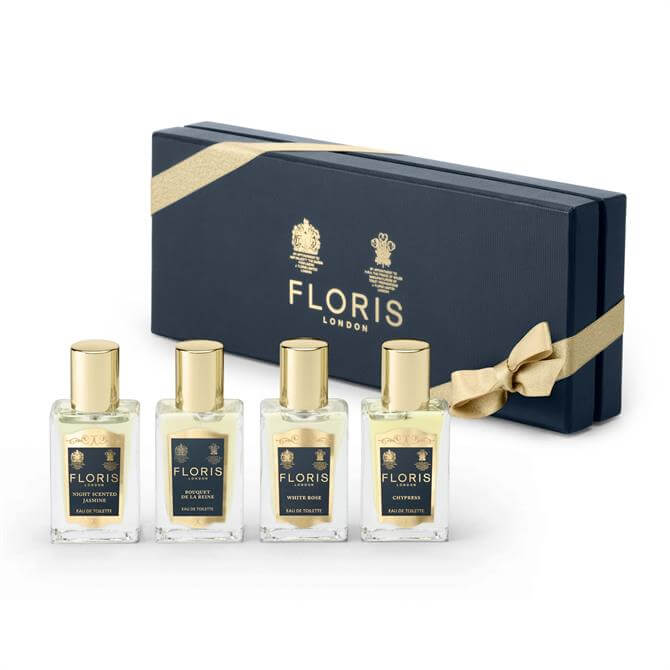Floris Fragrance Travel Collection For Her- x4 EDT 14ml
