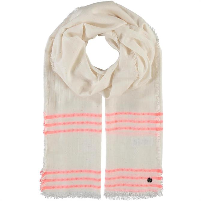 Fraas Ladies Recycled Lyocell Striped Stole