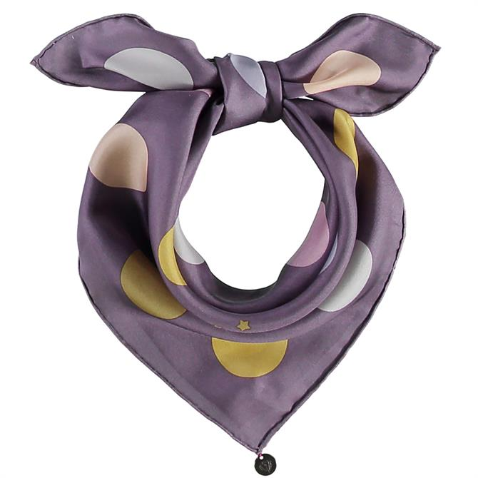 Fraas Niki Silk Ladies Dot Square Scarf