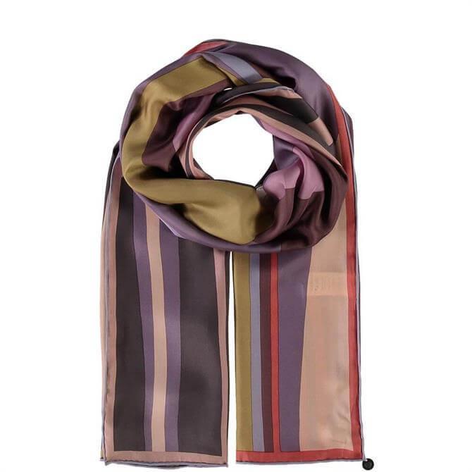 Fraas Ladies Striped Silk Scarf
