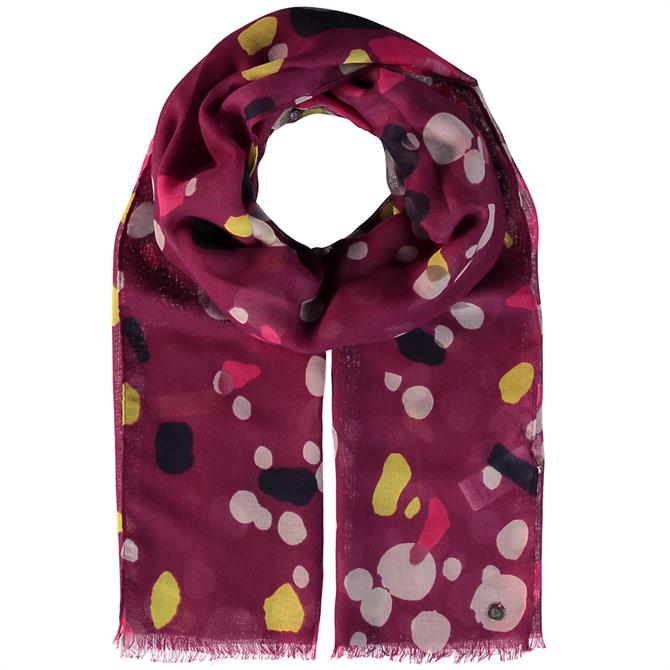 Fraas Graphic Print Ladies Polyester Scarf