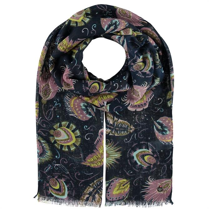 Fraas Paisley Print Ladies Polyester Scarf