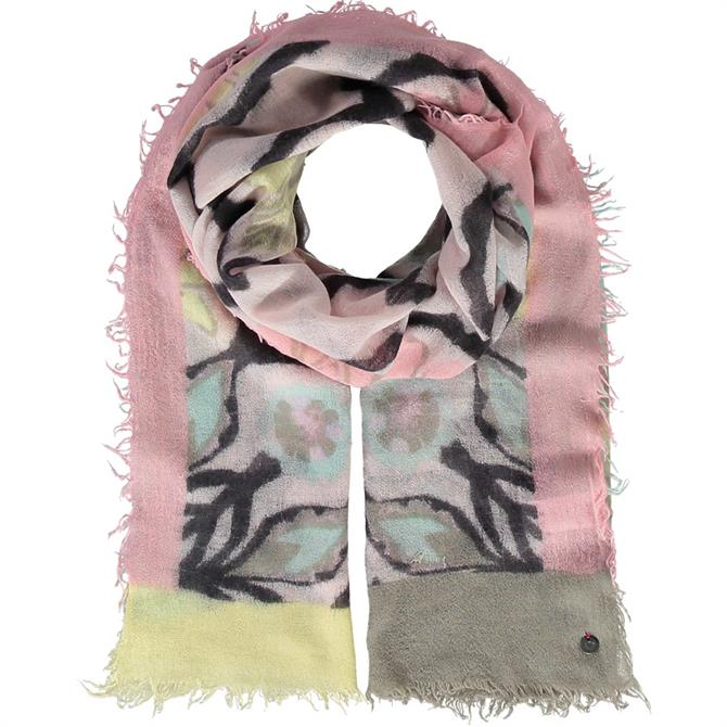 Fraas Graphic Print Wool Ladies Scarf
