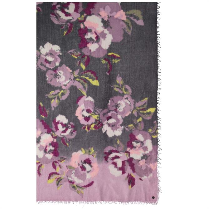 Frass Floral Wool Ladies Scarf