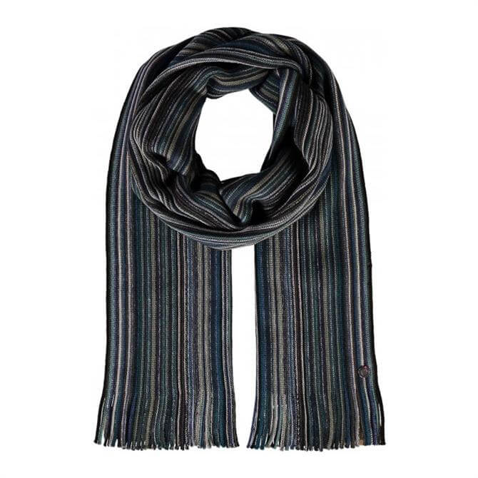 Fraas Pure Wool Striped Scarf