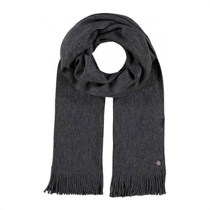 Fraas Pure Wool Scarf with Fringes