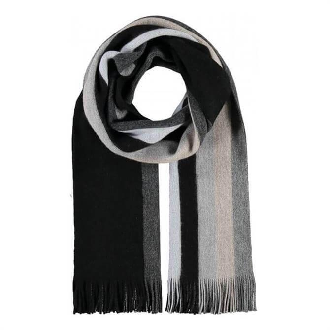 Fraas Striped Wool Blend Scarf