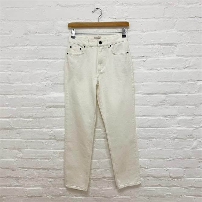 French Connection Palmira White Slim Cut Jeans