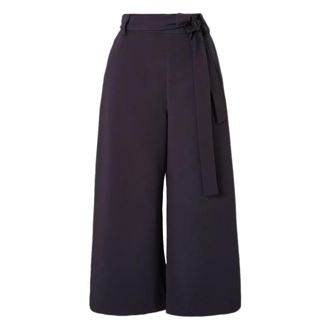 French Connection Whisper Ruth Cropped Wide Leg Trousers