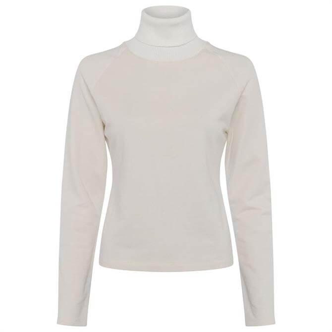 French Connection Sonita Lace Jersey Top