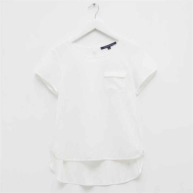 French Connection Classic Crepe Short Sleeve T-Shirt