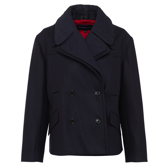 French Connection Carmelita Double Breasted Coat