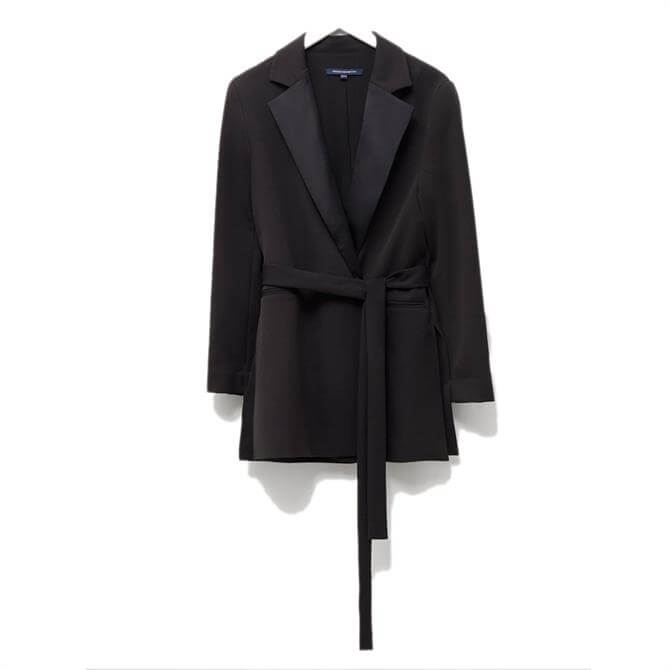 French Connection Amato Suiting Tie Waist Jacket
