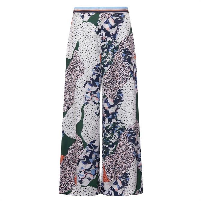 French Connection Asha Drape Printed Culottes