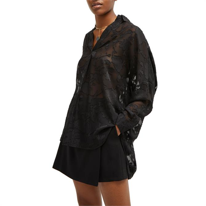 French Connection Clarita Floral Popover Shirt