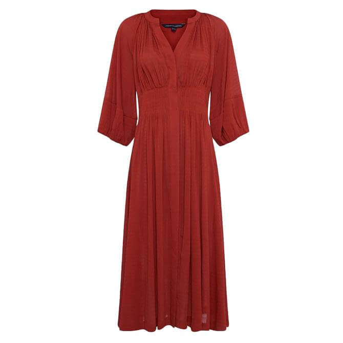 French Connection Cora Pleated Dress