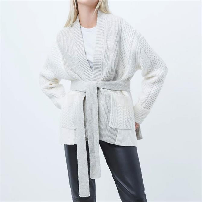 French Connection Kori Knits Belted Cardigan