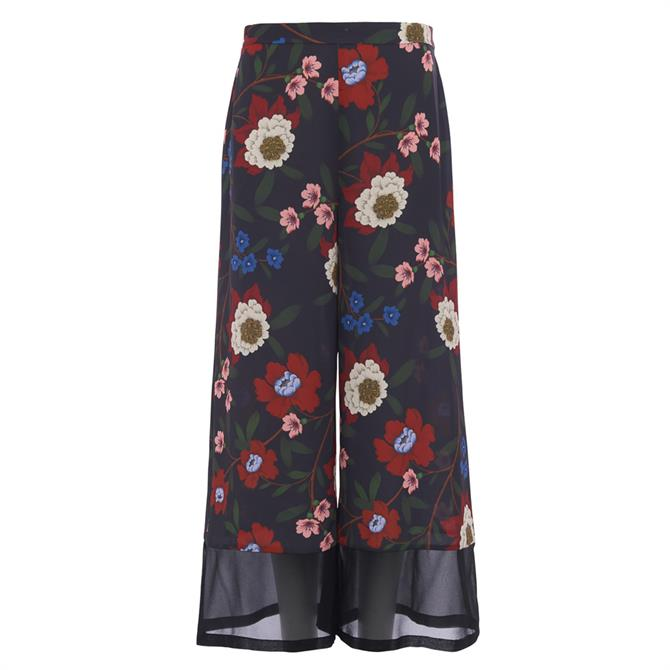 French Connection Eloise Drape Printed Culottes