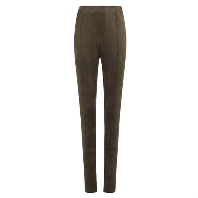 French Connection Mavita Suedette High-Waist Leggings