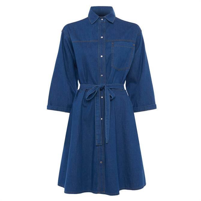 French Connection Shani Chambray Shirt Dress