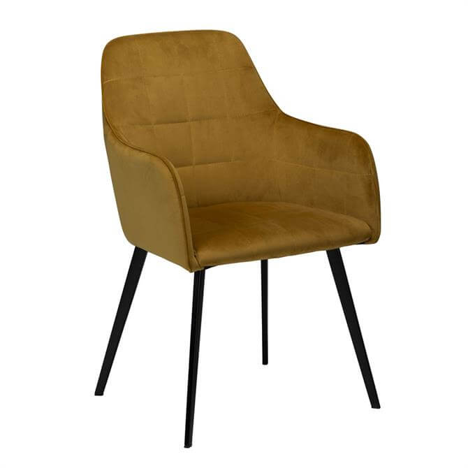 Embrace Chair Bronze Velvet