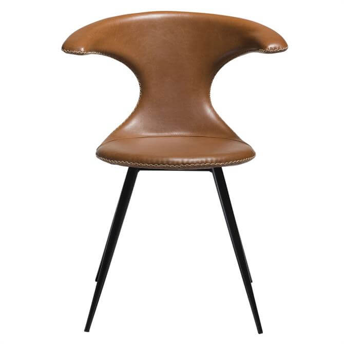 Flair Chair Vintage Light Brown Art Leather